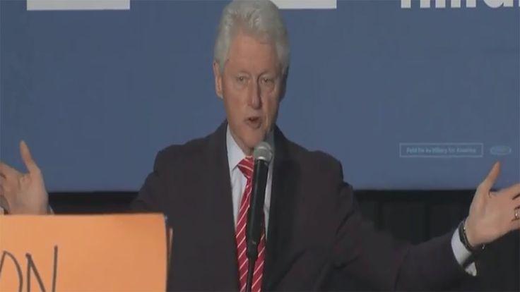 Bill Clinton Defends His 1994 Crime Bill To Black Lives Matter Protester...