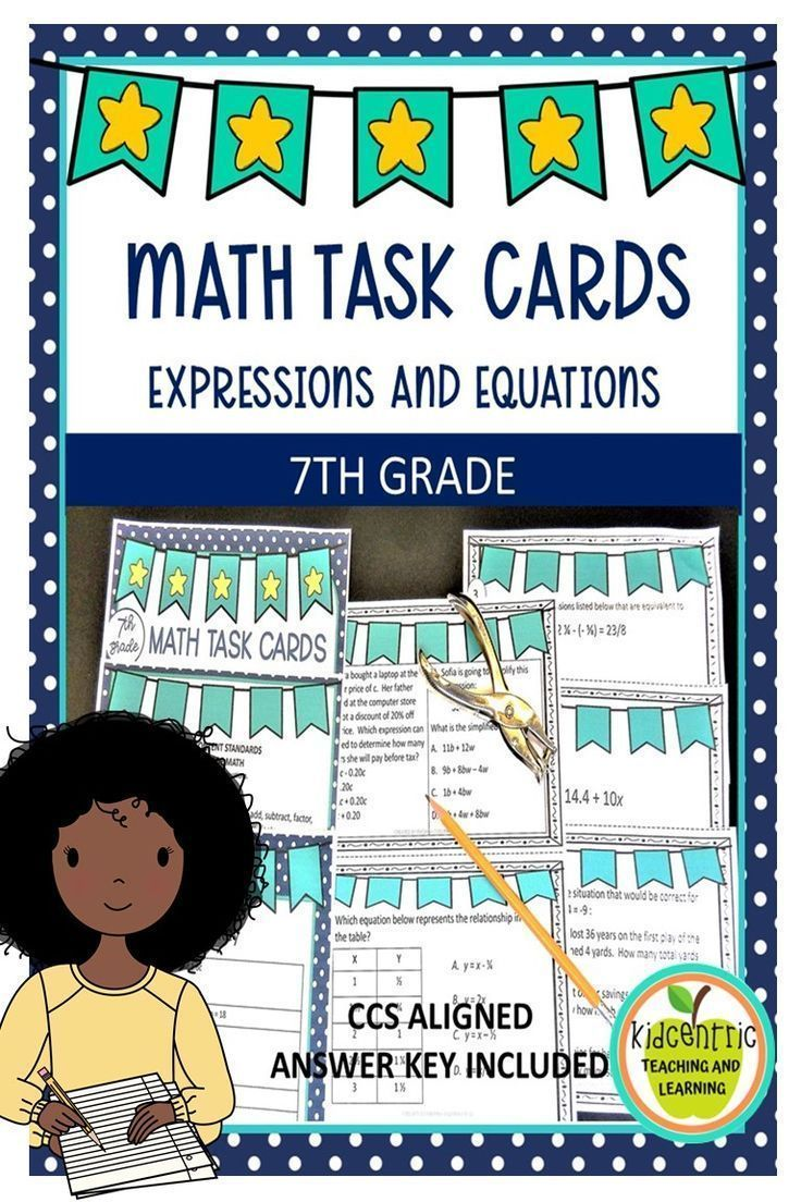 math card games for middle school