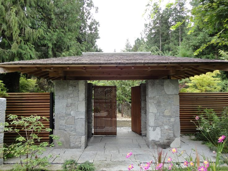barrier japanese garden - Google Search