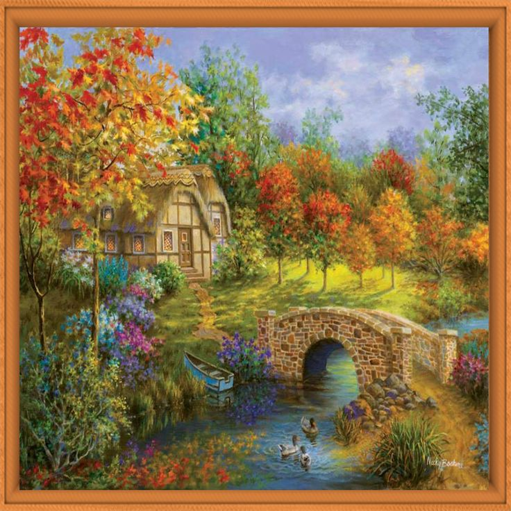Pictures Of Landscapes For Houses 42 best arte images on pinterest | naive art, folk art and landscapes