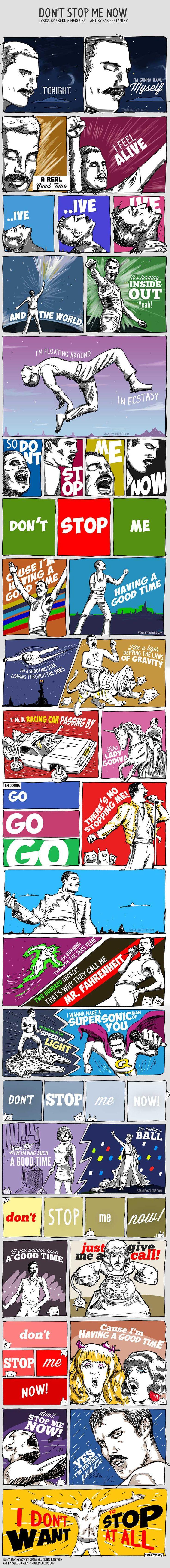 Don't Stop Me Now – Queen / Freddie Mercury #music #queen