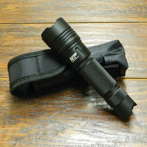 Smith & Wesson M & P 10 LED Tactical Flashlight Black - Camping Equipment, Flashlights at Academy Sports