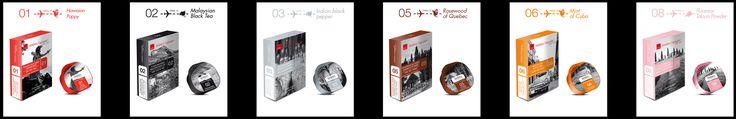 Capsules on Air® Range 01 - 08