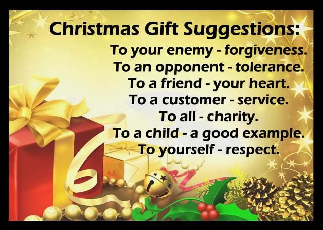 Christmas gift inspirational quote Christmas quotes