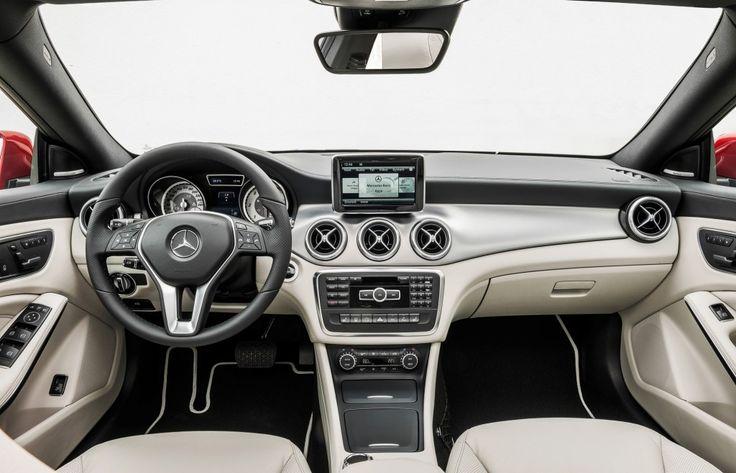 2014 Mercedes-Benz CLA 250 2014 Mercedes-Benz CLA 250 Dashboard – TopIsMagazine