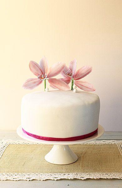 Orchid cake / Torta de orchidea africana