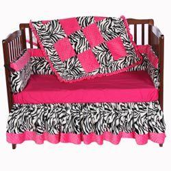 Luxury Animal Print Bedding | Minky Zebra Crib Bedding Crib Bedding for Girls - LuxuryLamb.Com