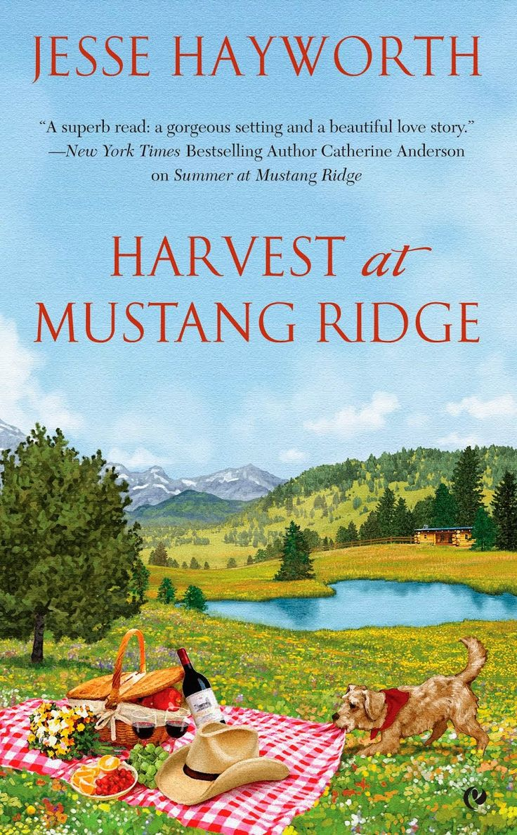 Harvest At Mustang Ridge By Jesse Hayworth