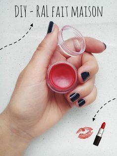 Un rouge à lèvres fait maison simple à réaliser ! ❁                                                                                                                                                                                 Plus