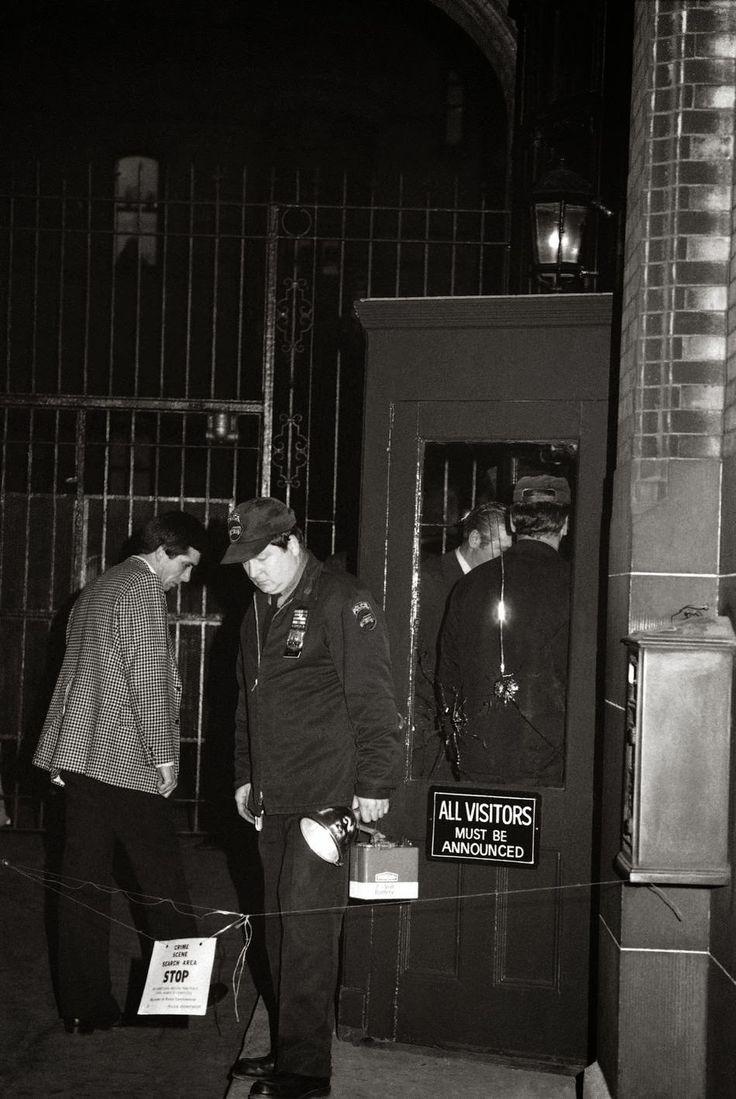 Image Gallery john lennon crime scene