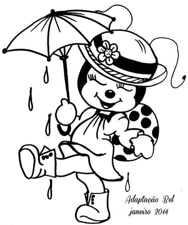 joaninha- dançando na chuva