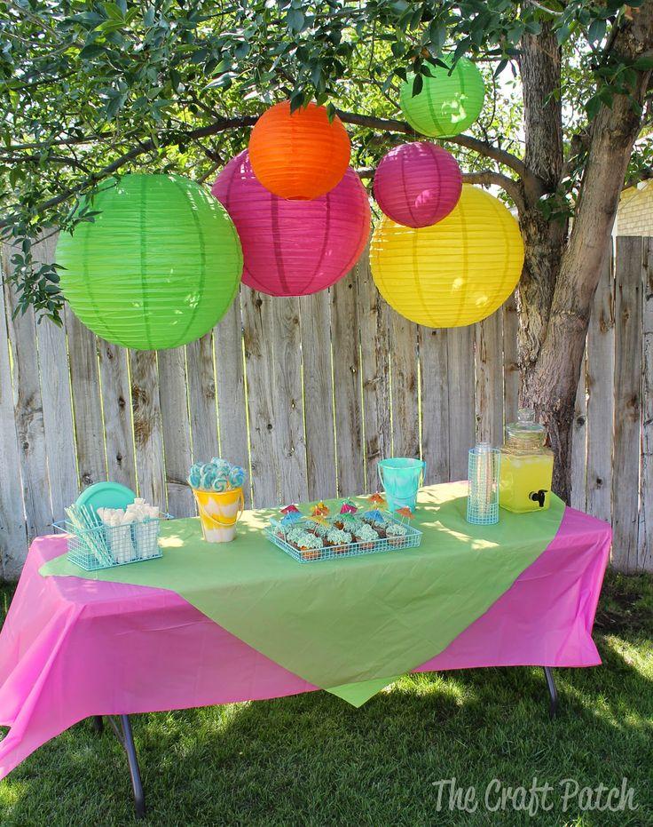 The Craft Patch: Splish Splash Birthday Bash