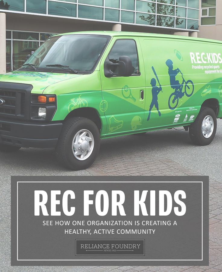 Sports are important for children's development, but not every family can pay for lessons or equipment. That's why Reliance Foundry collaborated with REC for Kids, a local organization that gives used sports equipment to less fortunate kids and teens. Learn more about REC for Kids on our blog!