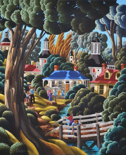 'Down by the River - Washing Day'' ~ George Callaghan