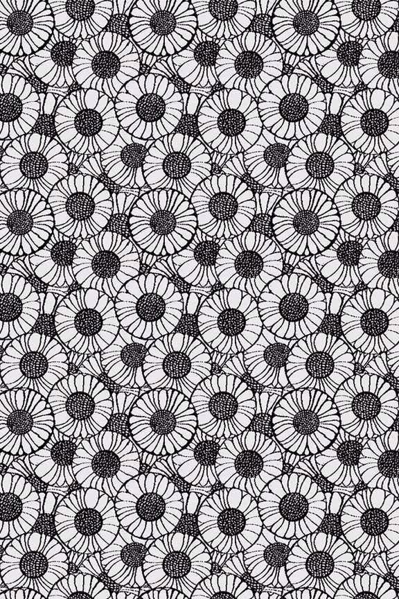 Orakelblume textile design by Koloman Moser, 1901