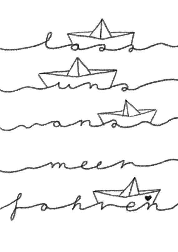 Affiche Allons A L Affiche Mer Maritime En 2020 Pochoir Peinture Affiche Encreurs