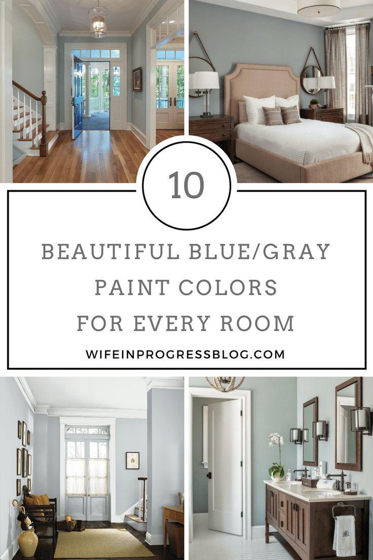 The best blue gray paint colors decor tips pinterest paint