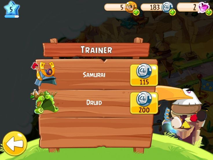 Angry Birds Epic Android, screenshot 5