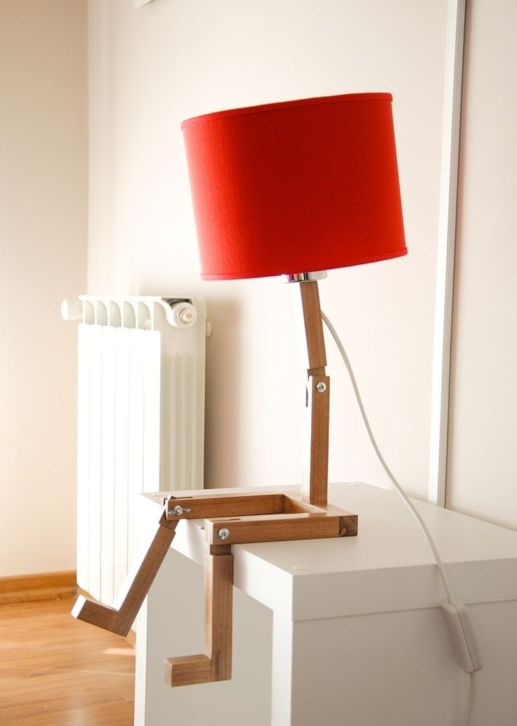 Única Lámpara Velador De Mesa Escritorio Articulada! Diorama - $ 1.200,00