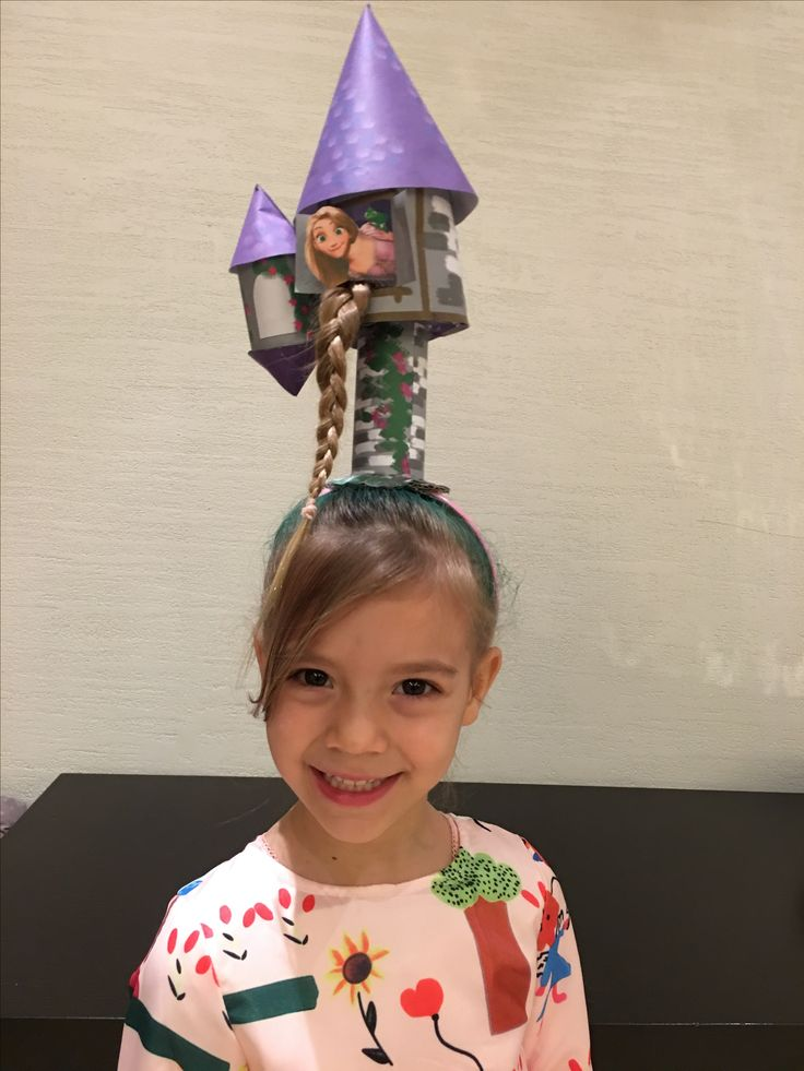 Crazy Hair Day. Rapunzel tower
