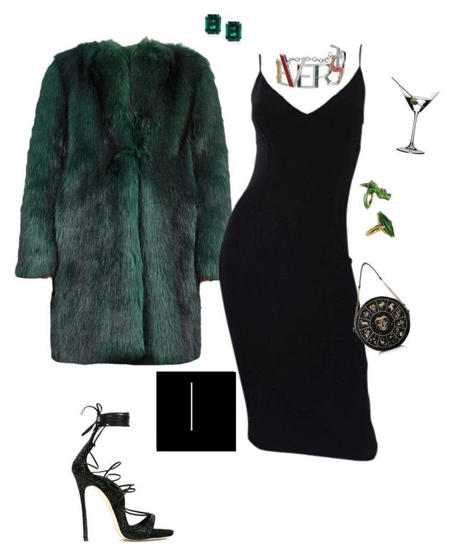 """HAPPY BIRTHDAY ROBZ AKA THE BADDEST"" by inesmchx ❤ liked on Polyvore featuring Dries Van Noten, Michael Kors, Vintage, Riedel, Dsquared2, CARAT* London and Preciously"