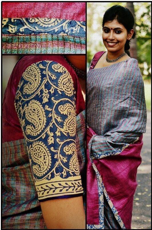 Kalamkari sleeves