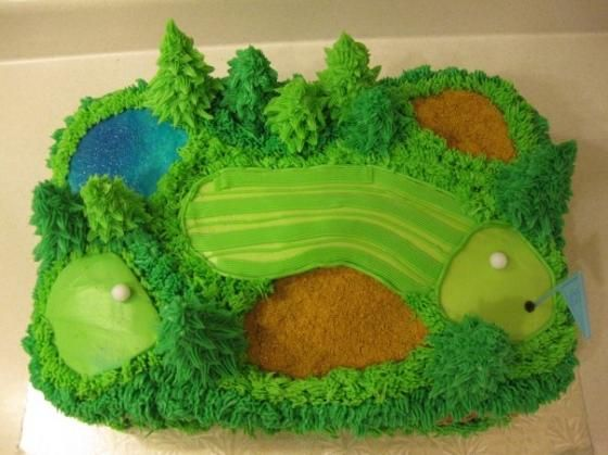 golf cake | The Canadian Living Crazy Cakes Contest | Golf Cake