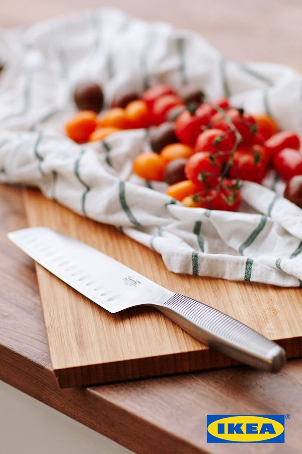 Cooking is more fun when you cut the tomatoes and not your fingers. With knives shaped to give you good grip and made to keep their edge for a long time, chopping, slicing and carving just got a whole lot easier!