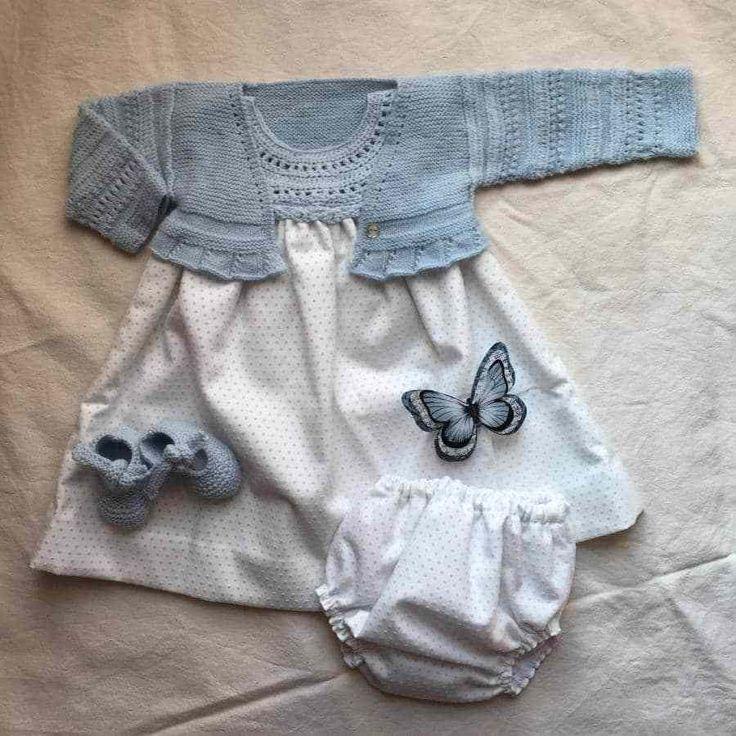 Como hacer una chaqueta sin costuras con punto de uña y vainica
