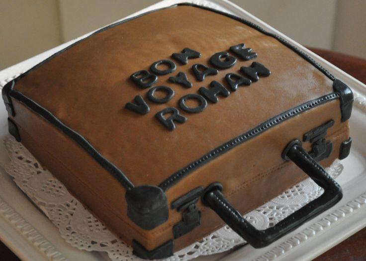 Stuffed Briefcase Cake