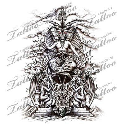 20 best images about demon tattoo designs on pinterest. Black Bedroom Furniture Sets. Home Design Ideas