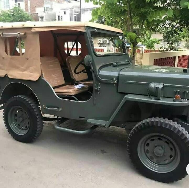 Cj3b Mm550ngcs Mm540 Mahindra Jeep Willys Jeep Jeep Concept