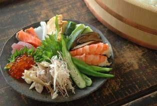 手巻き寿司のレシピ写真