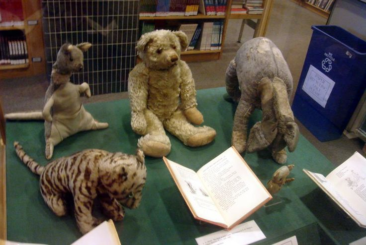 These are the Original Stuffed Animals That Inspired Winnie the Pooh