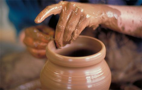 Bulgarian traditional pottery