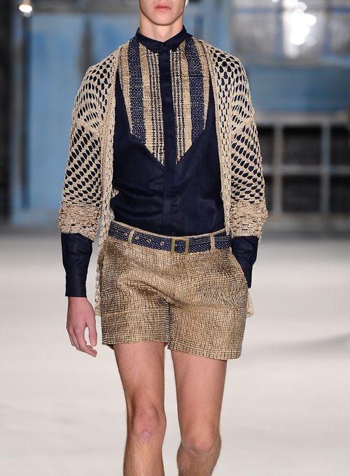 Joao Pimenta S/S 2013 #Fashion #Style #MensWear