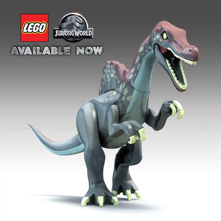 A roar from this great dino is sure to send a shiver down your *spine.* Do you know its name? Play LEGO Jurassic World and you'll know soon enough. –http://bit.ly/LJW-GameStop