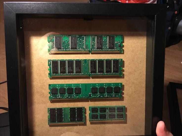 DDR2 RAM pictureframe