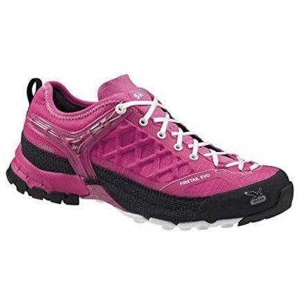 Chaussure Salewa Ws Firetail Evo Gtx Rose - Chaussure pour femme Trek et randonnée - Activités montagne - Boutique Cottay Shop Adhérence, robustesse et technicité en font l'un des modèles phares de la marque Salewa