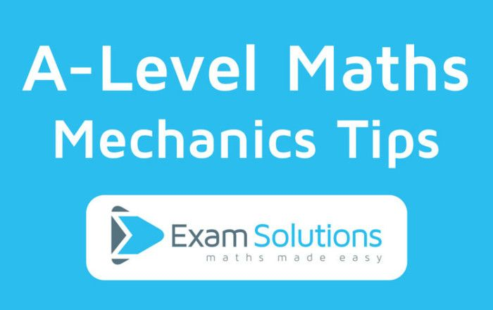 Maths Revision Video Tutorials ExamSolutions offers free maths revision video tutorials, which will help you get the maths grade you want.  Here you will find over 3600 maths videos covering topics such as algebra, calculus, probability, statistics and mechanics.  You will also find worked solutions to A-level maths past papers from the popular Examination boards such as Edexcel,