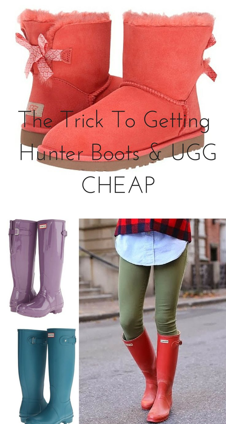 On a budget? Shop Hunter Boots & UGG at up to 70% off retail prices! Don't miss out on the sale now. Click image to install the FREE app.