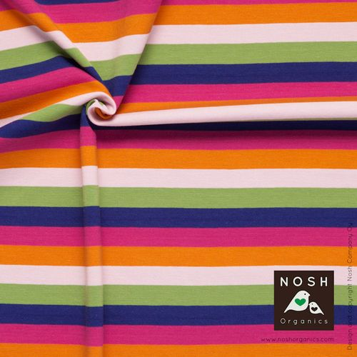 Happily colourful Multi Stripes, Lilac/ Magenta €22,90/m