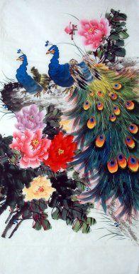 Pauw - Chinees schilderij