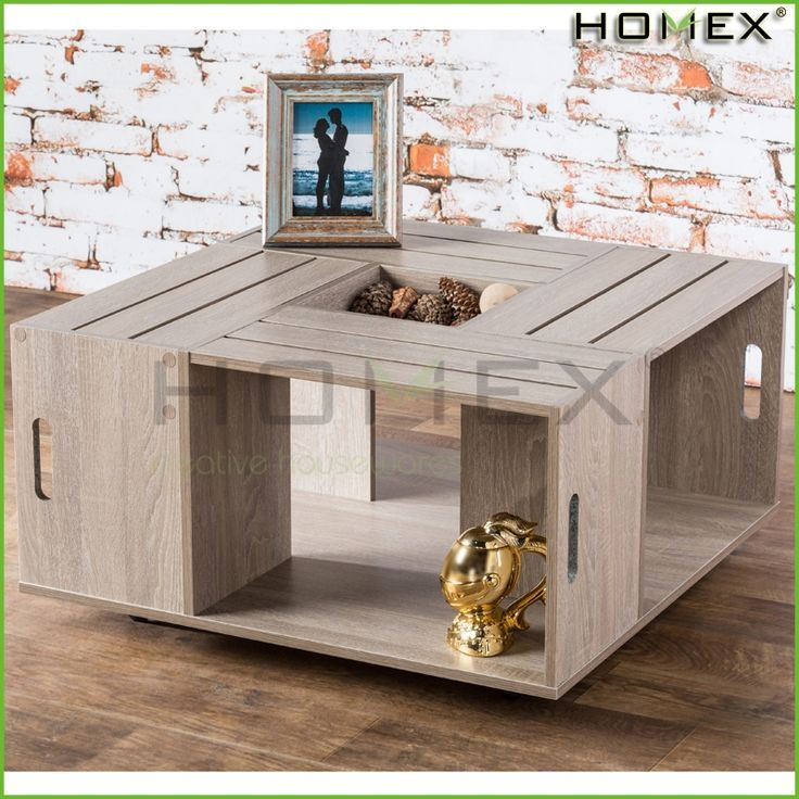 Good quality crate and barrel frame large coffee table /cheap side tables/ HOMEX #Coffee_Table, #crate