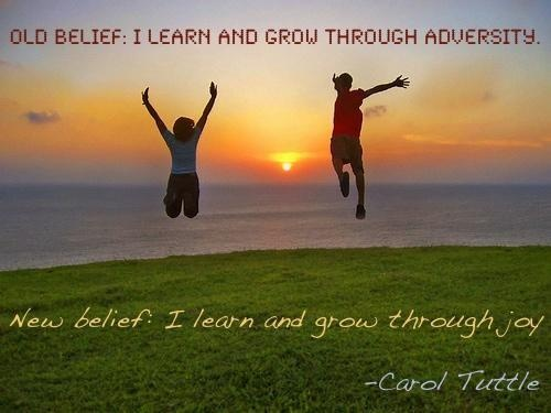 """New belief from """"Remembering Wholeness"""" by Carol Tuttle"""