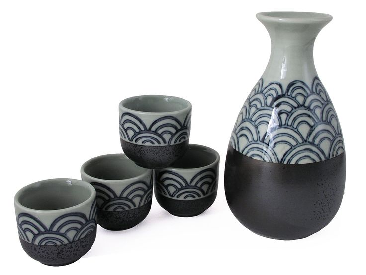 17 Best Images About Asian Inspired Sake Sets On Pinterest