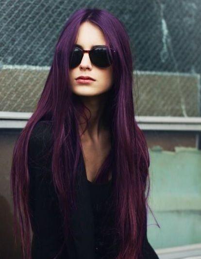 Les 17 Meilleures Ides De La Catgorie Cheveux Violet Fonc Sur Pinterest