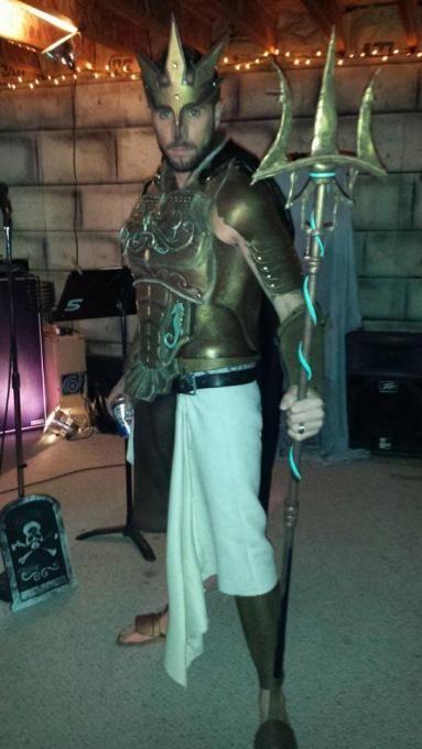 Poseidon Costume | InstaMorph - Moldable Plastic