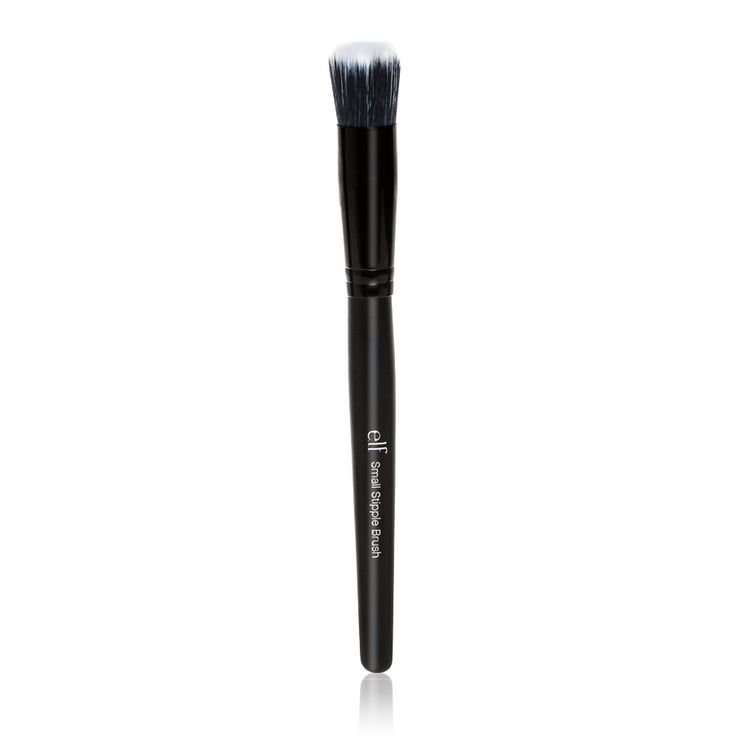 e.l.f. Studio Small Stipple Brush | e.l.f. Cosmetics --Highlighter, esp. cream --Cream contouring