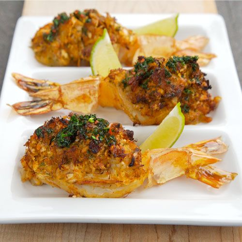 A Recipe for Super Jumbo Shrimp Stuffed with Crab. You may want to double the recipe if there are loads of people coming because this recipe only serves 4 as an appetizer.
